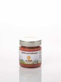 Honig mit Erdbeeren 180g
